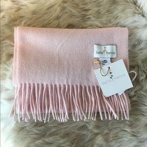 🆕 Cashmere Scarf, Belle France Light Pink, Soft